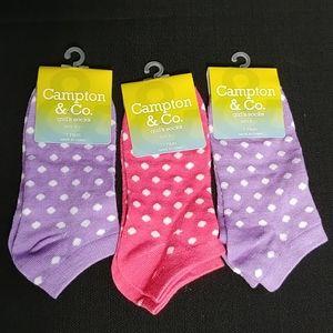 NWT Bundle Of Girl's Socks
